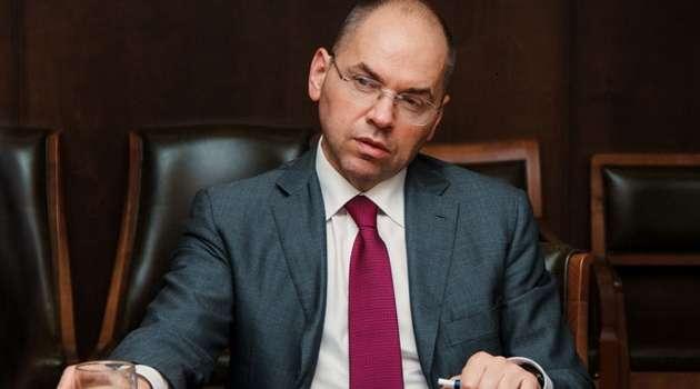 Степанов нацелился полностью преодолеть эпидемию COVID-19 в Украине до конца года