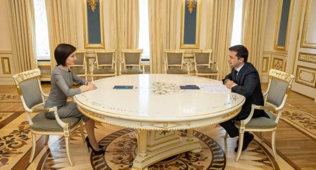 Поссориться с соседом на западе – это надо уметь: Зеленский проигнорировал звонки президента Молдовы Санду