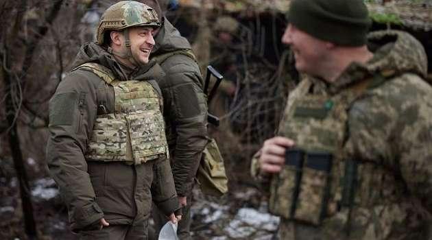 Сегодня Зеленский посетит районы Донбасса, где нарушается режим «тишины»