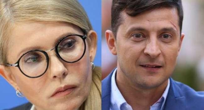 Политолог: единственная, кто может спасти ситуацию в стране, а с ней и самого Зеленского – это Тимошенко