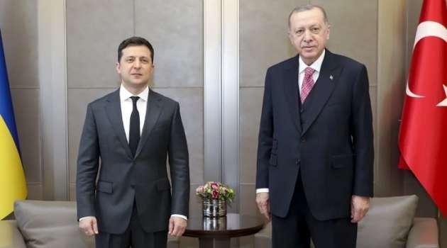 Зеленский и Эрдоган начали встречу в Стамбуле