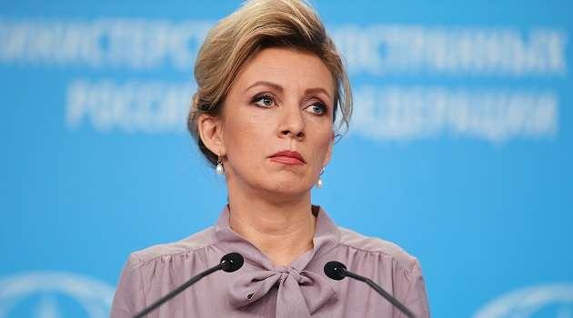 Захарова заявила, что американский телеканал показал танки из Украины, выдав их за российские