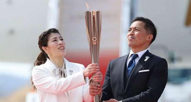 Эстафета Олимпийского огня в Японии впервые прошла без зрителей
