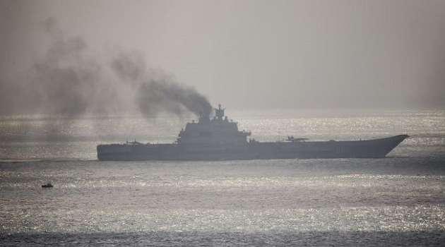 В Черном море начались учения российских боевых кораблей
