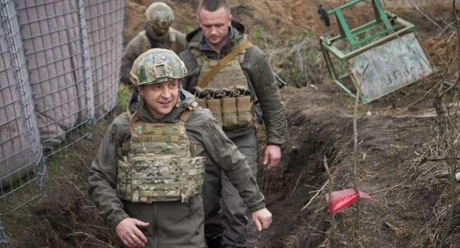 «Создать иллюзию решения конфликта»: российский политолог назвал цель визита Зеленского на Донбасс