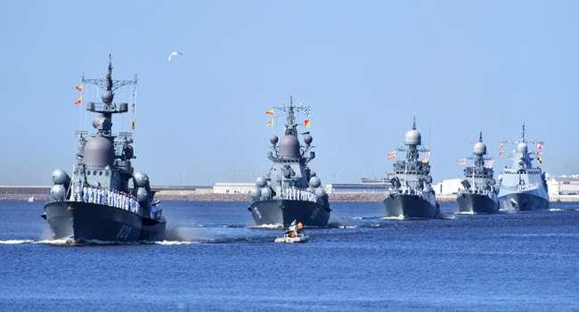 На фоне обострения на Донбассе: Боевые корабли России вышли в Черное море