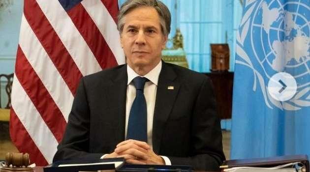 Блинкен: все страны-члены НАТО осуждают стягивание Россией войск к украинской границе