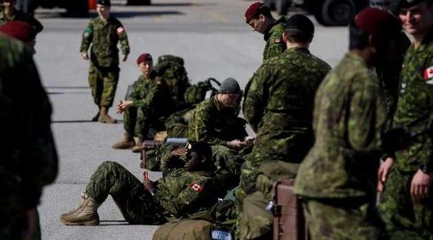 Канада временно остановила подготовку украинских военных: в чем причина