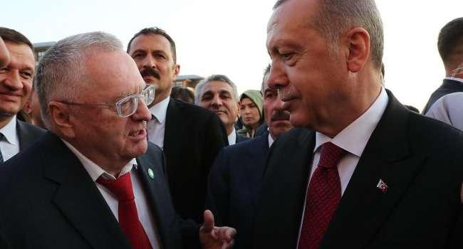 Жириновский: Эрдогана нужно успокоить. Турция поставляет Украине оружие, из которого убивают русских солдат