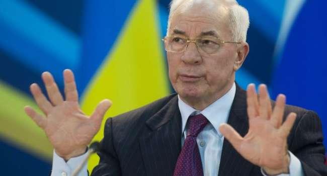«За эти годы уровень жизни упал в 2 раза»: Азаров отреагировал на заявление Зеленского о зарплате в Украине
