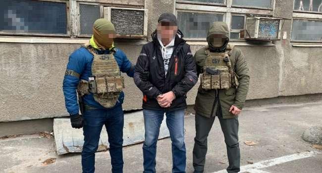 Задержан наемник России: Боевик дает показания против РФ Службе безопасности Украины