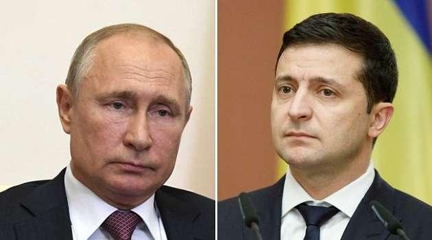 «Ждем в Москве в любое время»: Путин ответил Зеленскому на его приглашение, отказавшись обсуждать Донбасс