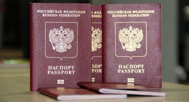 «До 1 миллиона единиц»: в России намерены в 2 раза увеличить количество выданных паспортов РФ жителям Донбасса