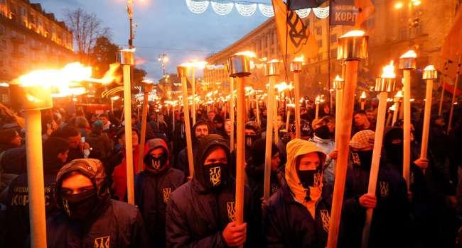 Марш националистов в Киеве: подробности мероприятия в честь дивизии «Галичина»