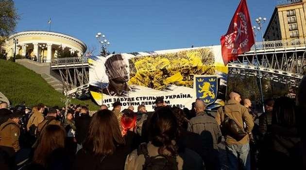 Еврейская конфедерация раскритиковала проведенный в Киеве марш в честь СС «Галичина»