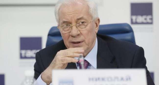 «А высказывание мерзкого ид*ота Дроздова посчитали приемлемым»: Азаров прокомментировал «свободу слова» от Зеленского
