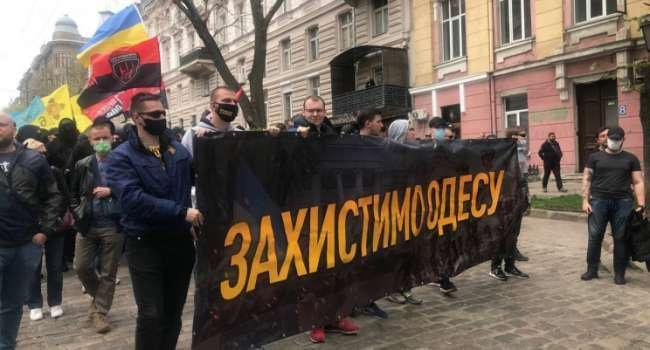 Охватывает шок и берет оторопь от произошедшего: в России вне себя от марша защитников Одессы 2 мая