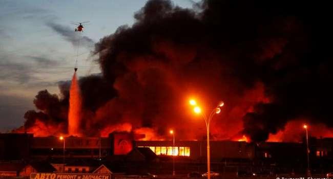 Масштабный пожар в Москве: в МЧС РФ опровергли гибель людей