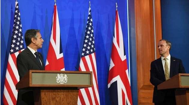 США и Великобритания выступили с совместным заявлением по борьбе с российской агрессией