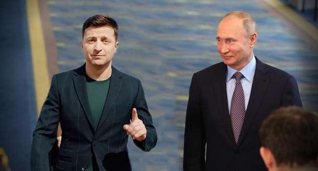 «Маниакальное стремление посмотреть в пустые глаза Путину»: после встречи с главой Кремля, рейтинг Зеленского может лопнуть