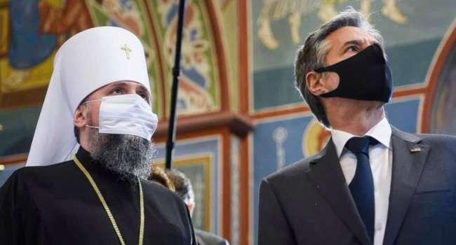 Политолог: сложно себе представить такое фото с главой УПЦ МП Онуфрием, который фактически представляет в Украине РПЦ