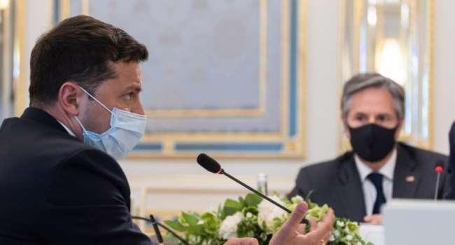Романенко: Зеленский сегодня страшно волновался, а вся его речь и ответы на вопросы журналистов выглядели как оправдание перед Блинкеном