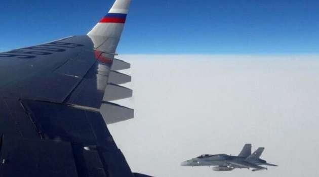 Российский самолет нарушил воздушное пространство Эстонии: Москве выразили протест
