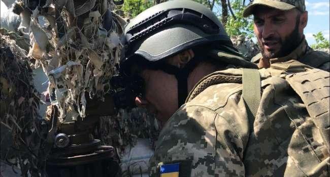 Мирослав Гай: украинские воины не нарушают перемирие, а просто проводят санацию своей земли и обогащают ее гумусом