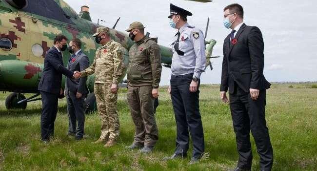 Зеленский прибыл на Донбасс в сопровождении послов стран G7 и Евросоюза