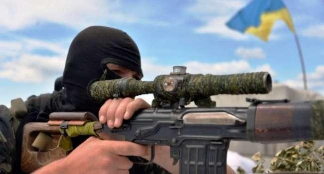 Вражеский снайпер ранил бойца ООС. Украинский защитник умер в военном госпитале