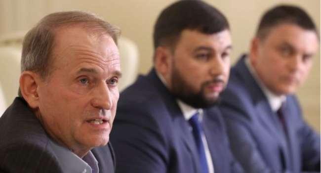 В Сеть слили запись разговора Медведчука и Пушилина – СМИ