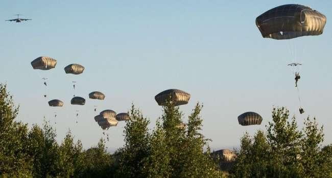 США высадили боевой десант в Эстонии