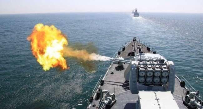Военные корабли РФ всячески препятствовали военным учениям Украины и НАТО в Черном море