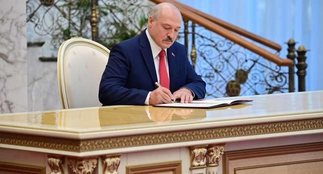 В случае убийства»: Лукашенко подписал документ о передачи власти в Беларуси