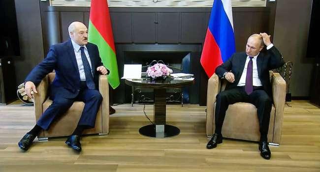 «Украина и стремление Киева вступить в НАТО»: Путин провел переговоры с Лукашенко