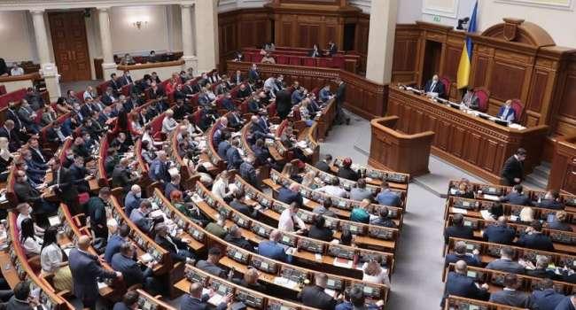 Все парламентские партии Украины начали терять поддержку избирателей