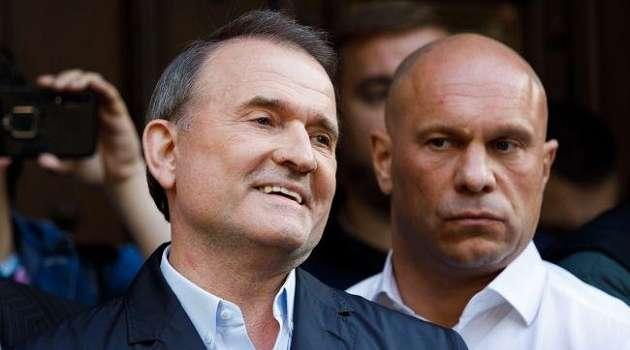 Офис Генпрокурора сообщил, что на Медведчука надели электронный браслет