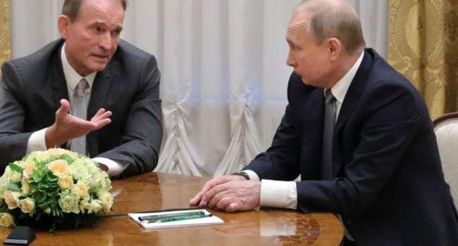 «Тебе, Володя, и твоему куму скоро будут носить передачки в СИЗО и Гаагу»: Гончаренко ответил на комментарий Путина по аресту Медведчука