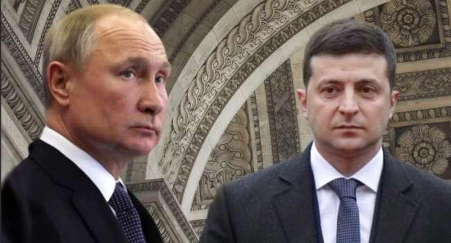 Политолог: «Именно Путин поможет Зеленскому сохранить лицо»