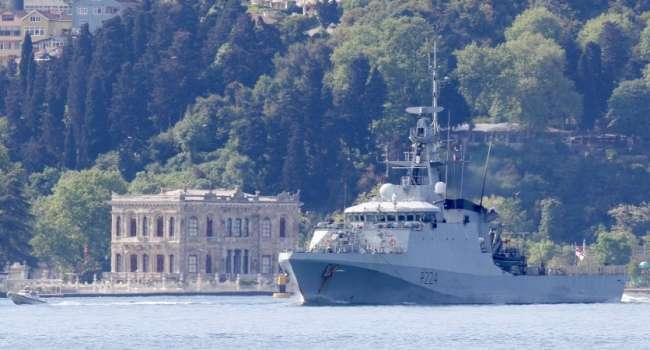 В Одесском порту пришвартовался корабль Королевского флота Великобритании