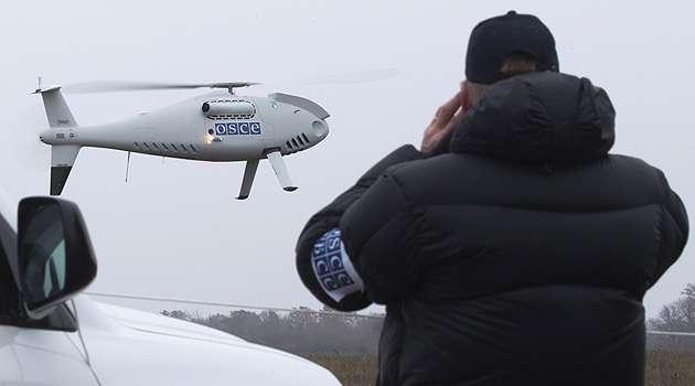 Российско-оккупационные войска заглушили БПЛА СММ ОБСЕ