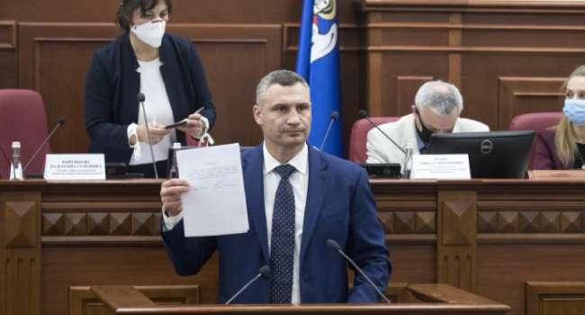 Попытка Кличко «встретиться посередине» с Зеленским, отдав Ермаку щедрые финансовые потоки столицы, оказалась неудачной, – блогер
