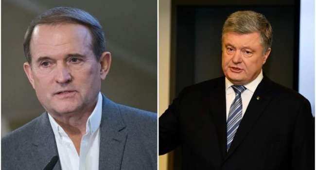 Журналист: ни одно требование, которое продвигал Медведчук, Порошенко так и не выполнил