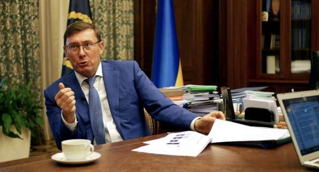 Луценко: приглашаю на «5 канал» Подоляка вместе с его шефом Ермаком, поговорим и о моих действиях, и о стенограммах переговоров Ермака и Джулиани