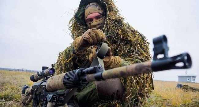 В зону ООС продолжают прибывать и «работать» снайперы из России