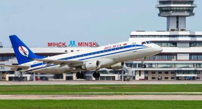 Беларусь потеряла 40% воздушного трафика через Евросоюз