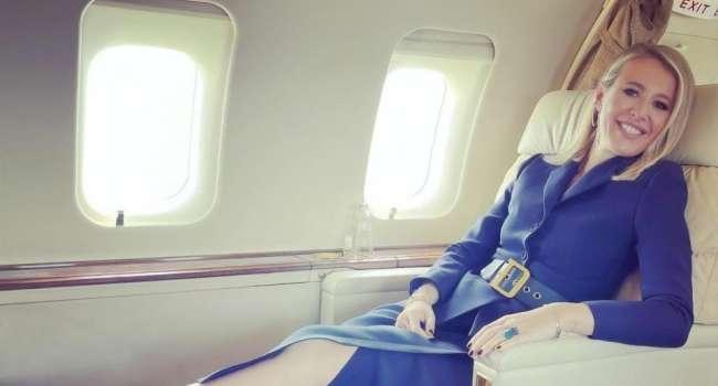 «Слава Богу, что долетели»: Собчак оказалась пассажирской экстренно приземлившегося в Москве самолета