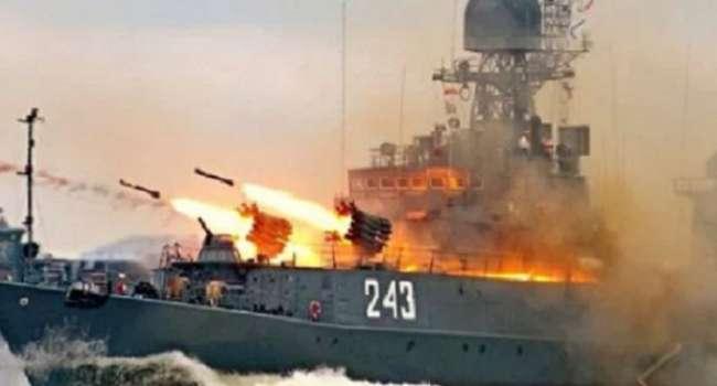 СМИ: военное судно РФ «Карелия» уничтожило две современные ракеты США