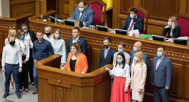 Из фракции «Голос» могут выйти 10 парламентариев, которым не нравятся действия руководства партии и фракции