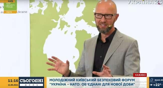 Яценюк: если бы Украина в 2014 году Украина была членом НАТО – Россия не рискнула бы нарушить наши границы